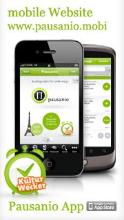 mobile Website www.pausanio.mobi und Pausanio App